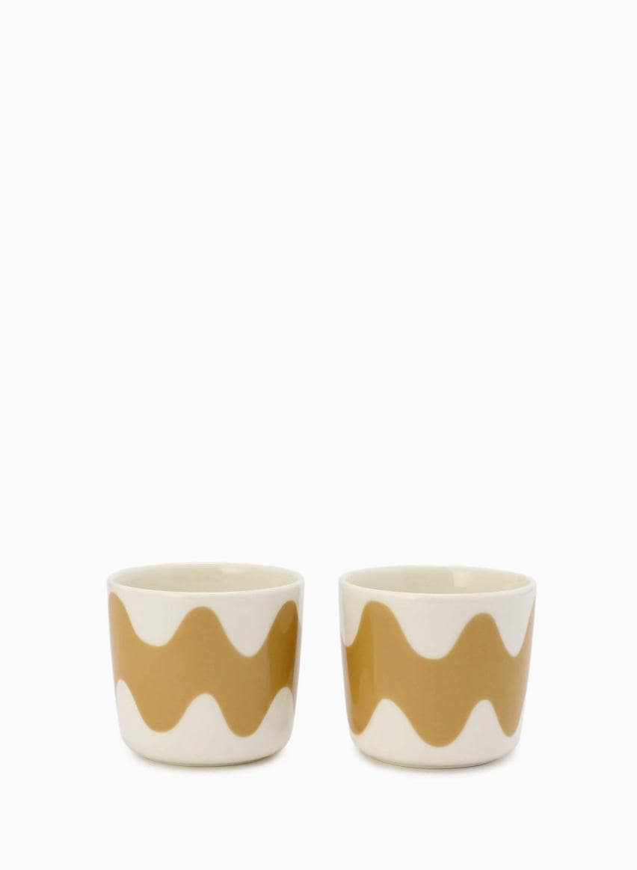 【日本限定】Lokki コーヒーカップセット(ハンドルなし)