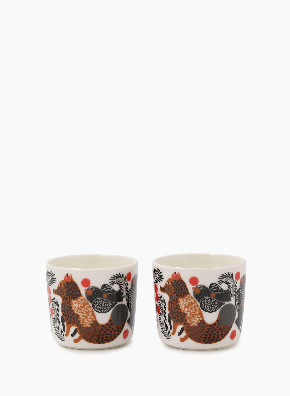 Ketunmarja コーヒーカップセット(ハンドルなし)