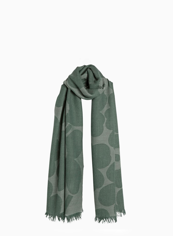 Piiru Jacquard Pieni Unikko スカーフ