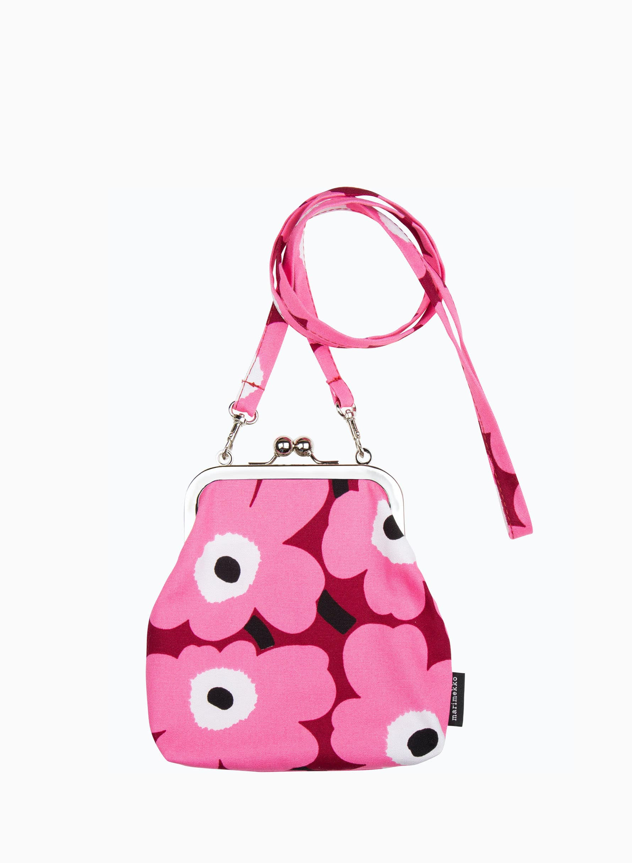 Mini Unikko Roosa ショルダーバッグ
