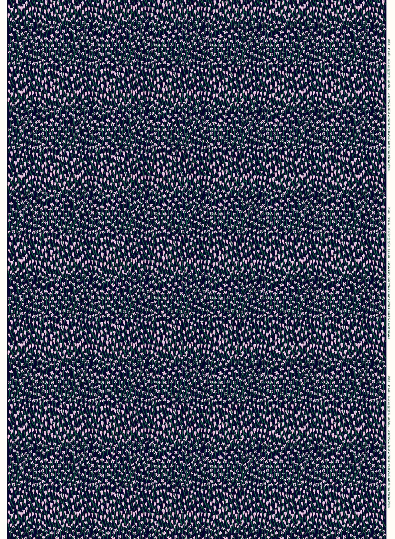 Blue Marimekko Pikku Lokki Shower Curtain