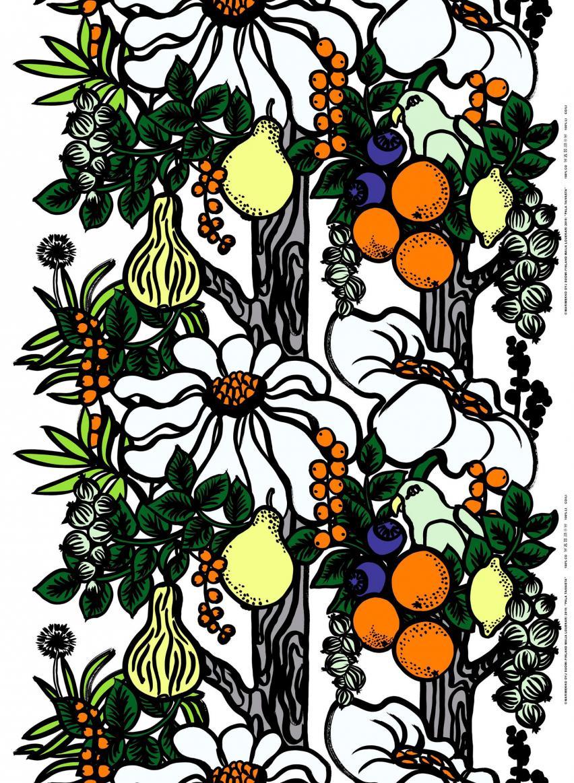 ホワイト×オレンジ×グリーン