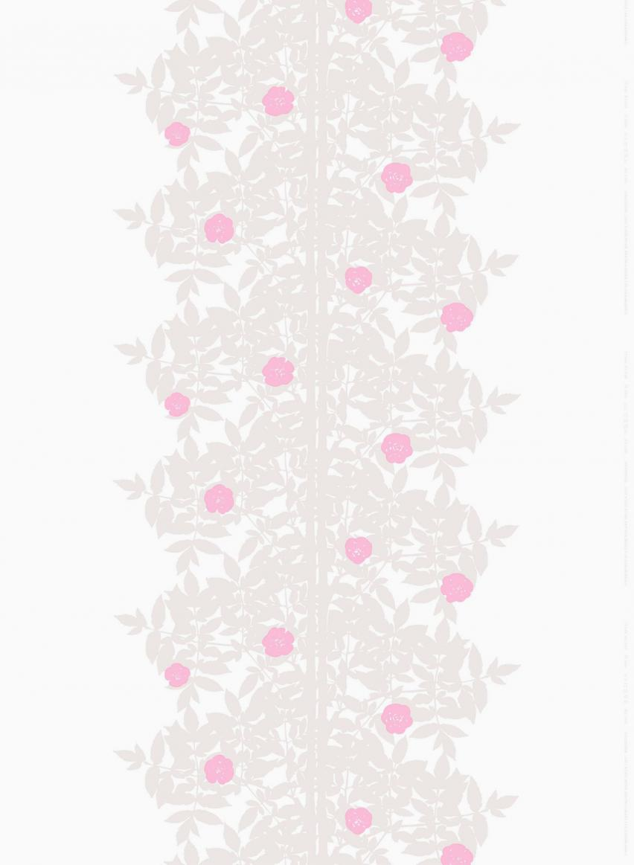 ホワイト×ベージュ×ピンク