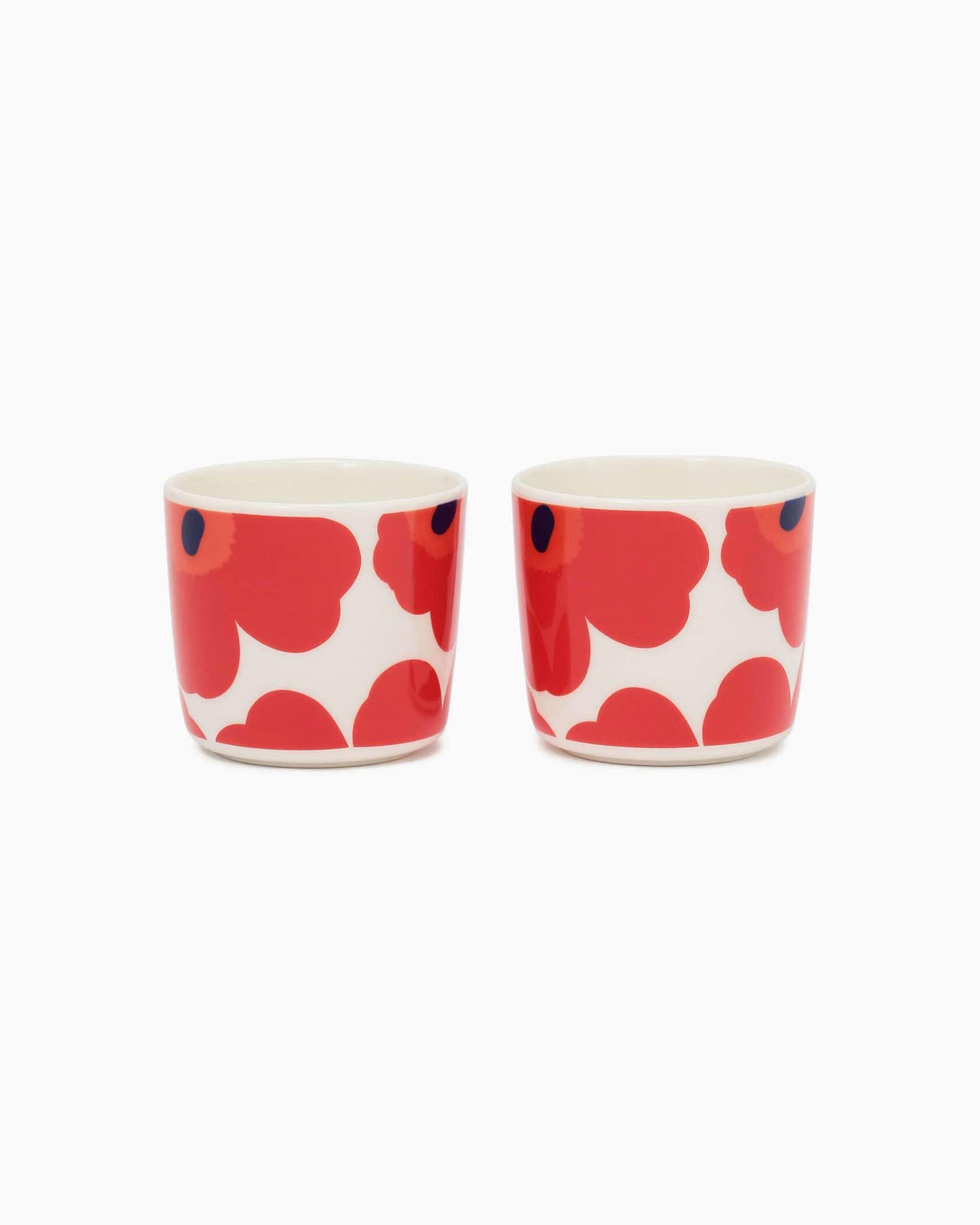 Unikko コーヒーカップ(ハンドルなし)