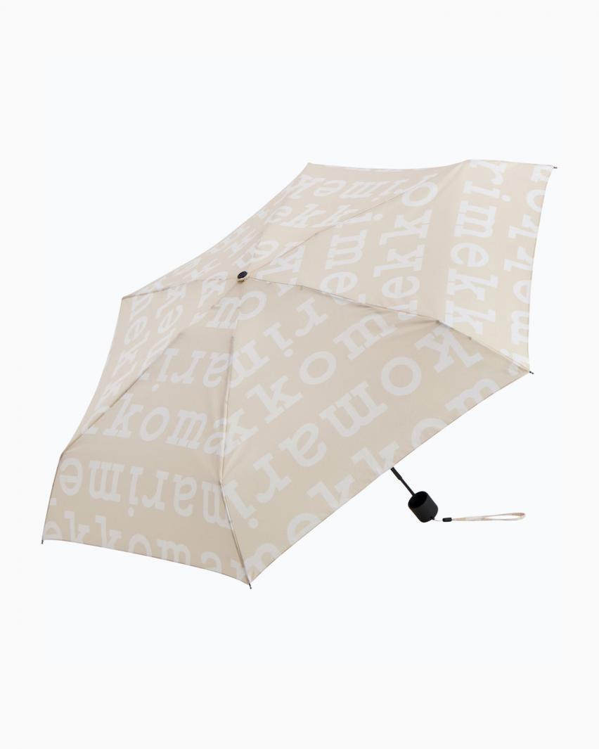 Mini Manual Logo 折りたたみ傘