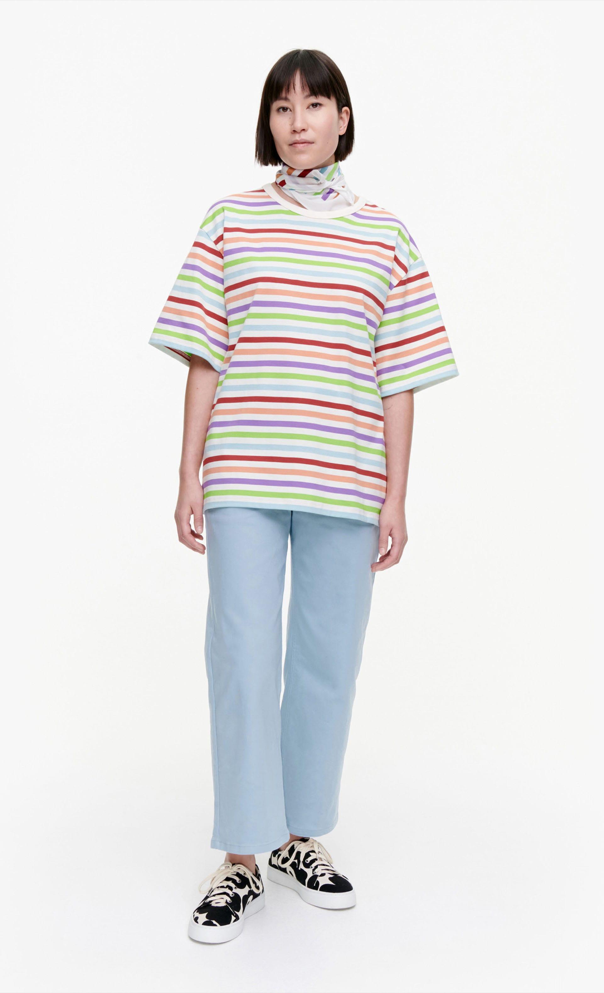 Kallioille Multitasaraita Tシャツ