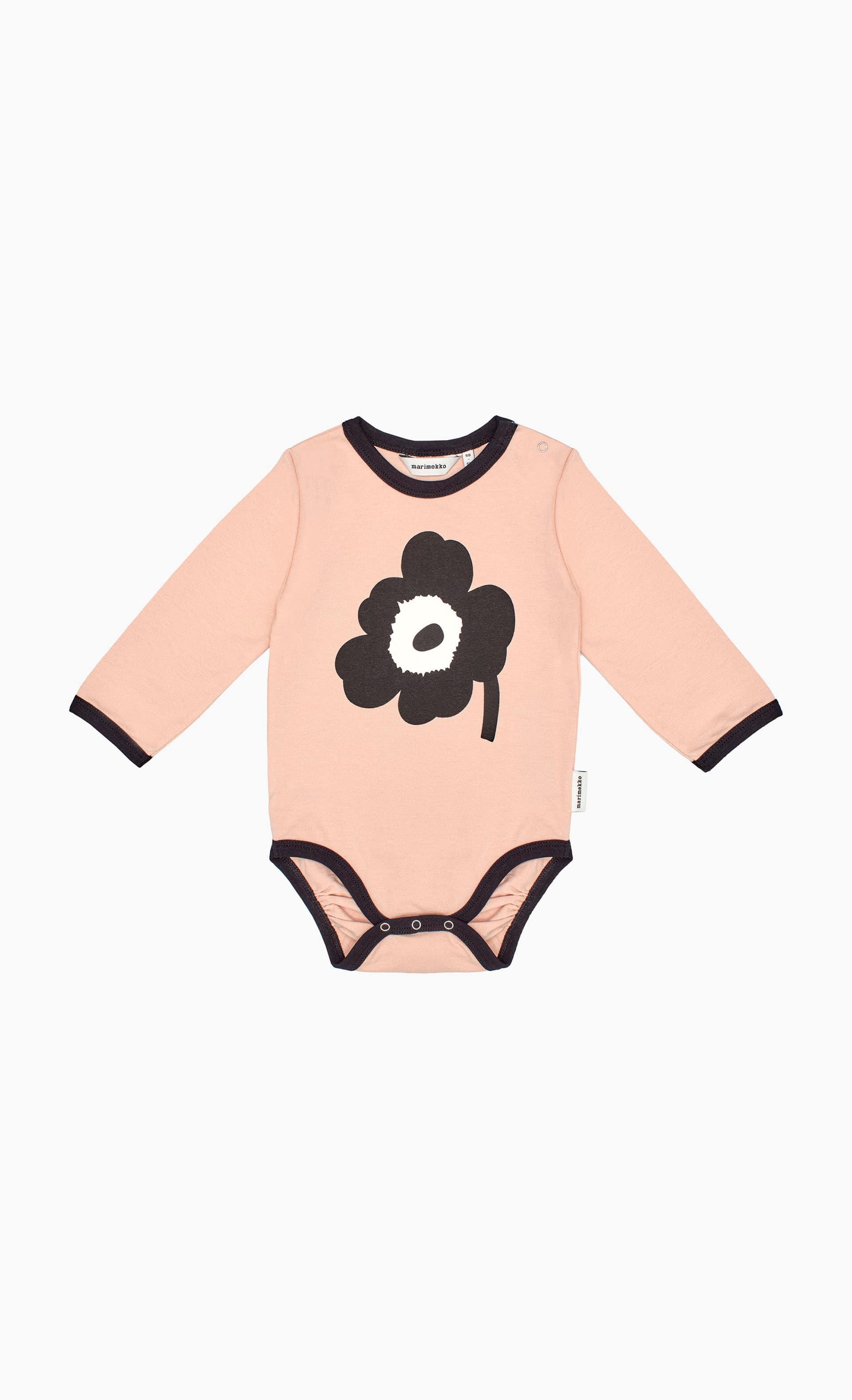 【Kids】Vinde Unikko Placement 長袖ロンパース