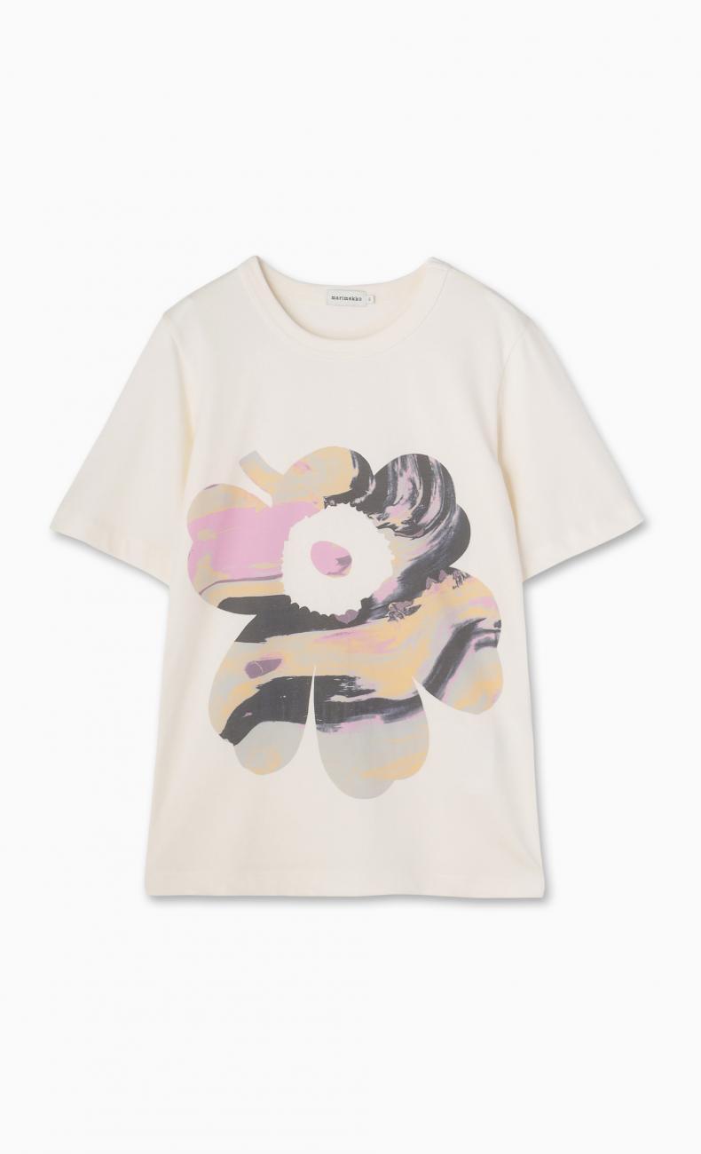 Hyvike Maisema Unikko Tシャツ