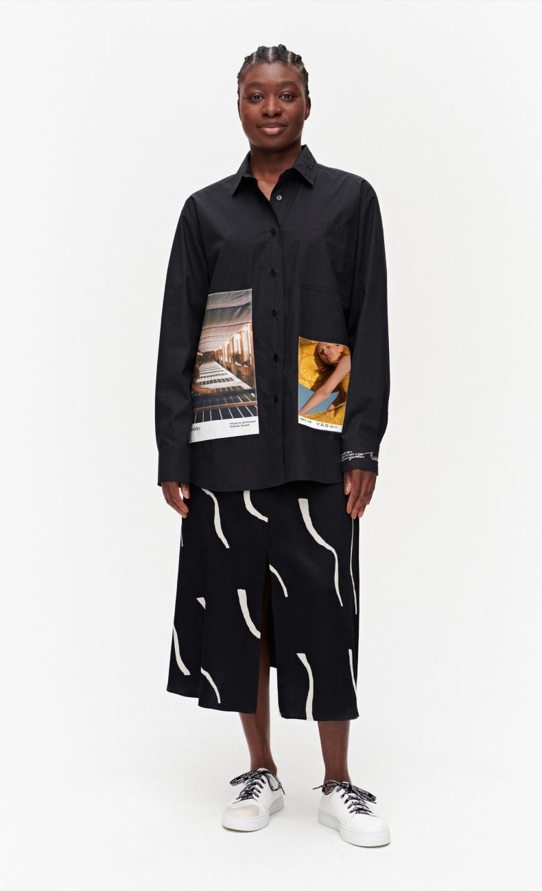 Pikkuakseli  / Marimekko Co-created シャツ