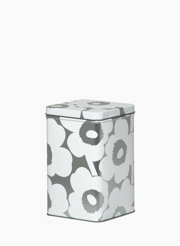 Unikko tin box 10.2x10.2x17.5 cm