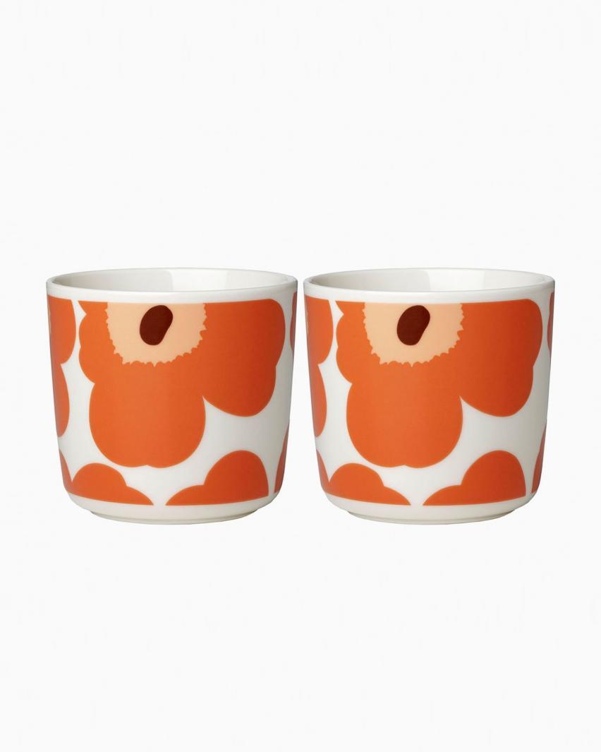 Unikko コーヒーカップセット(ハンドルなし)