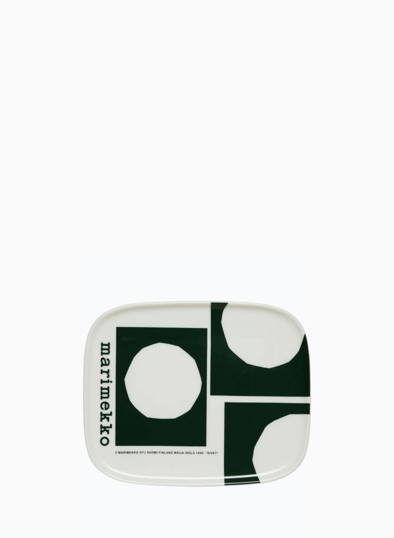 Oiva / Marimekko Co-created プレート 15x12cm