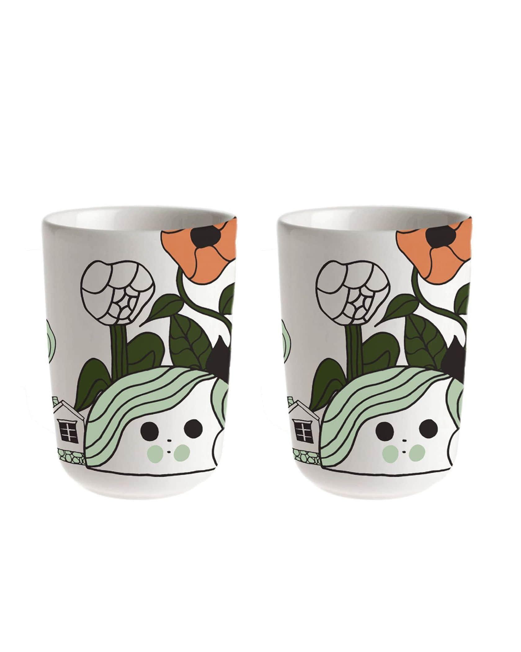 Marikyla コーヒーカップセット(ハンドルなし)