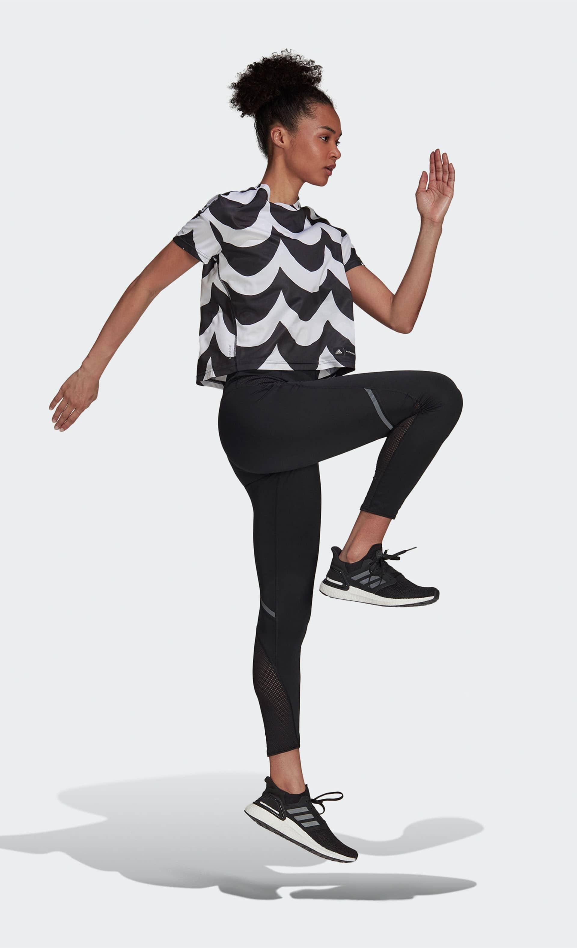 adidas×Marimekko Tシャツ