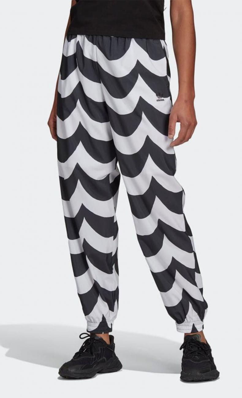 adidas×Marimekko カフ ウーブントラックパンツ